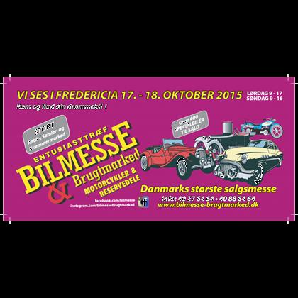 2 billetter til Bilmesse & Brugtmarked.
